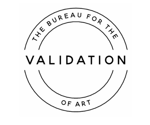 The Bureau for the Validation of Art, presented by the Women's Art Activation System, and featuring Sharon Bennett & Sarah Dixon.